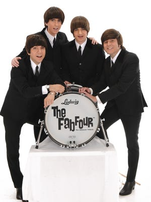 "The Emmy Award-winning Beatles tribute band The Fab Four brings its attention to detail and precision to the Englert at 8 p.m. Friday. With uncanny, note-for-note renditions of classics such as ""Can't Buy Me Love"" and ""Yesterday,"" the group will make you think you are watching the real thing. Tickets are $35 to $55. For more information, go to www.englert.org."