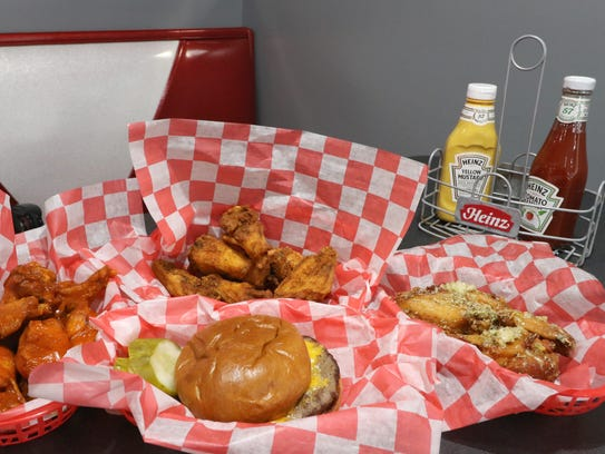 Burgers, wings, hand-dipped ice cream and more will