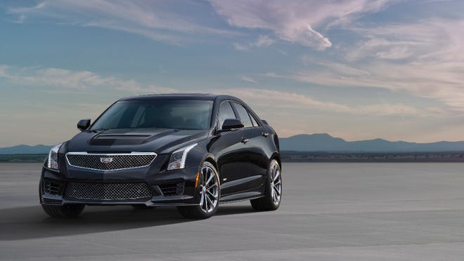 General Motors Co. has released a starting price of $61,460 for the Cadillac ATS-V sedan, which goes on sale this spring. The ATS-V will be built at GM's Lansing Grand River assembly plant. It includes a twin-turbo, 3.6-liter V-6 engine, 455 horsepower and 445 pound-feet of torque. The ATS-V can go from 0 to 60 mph in 3.9 seconds and can reach top speeds of more than 185 mph.