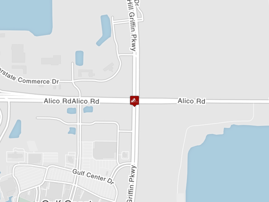 A fatal crash has been reported at Alico Road and Ben Hill Griffin Parkway