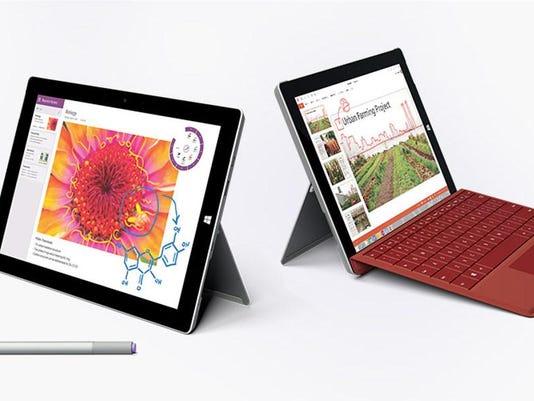 1Microsoft Surface 3 - a