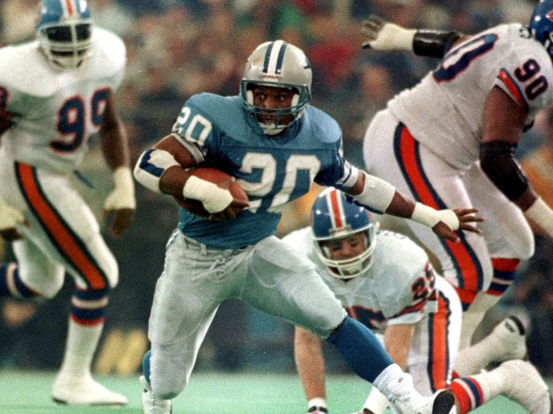 The 1 thing Barry Sanders would tell this year's NFL Draft picks