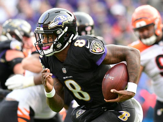 Week 12 fantasy football studs, duds and sleepers: Lamar Jackson could have another big game