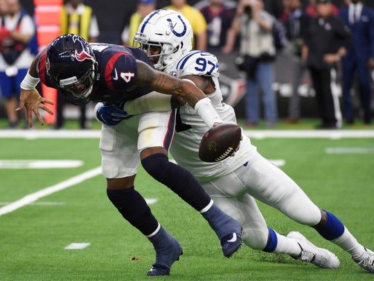 Los Colts sorprendieron y derrotaron de visita a los Texans.