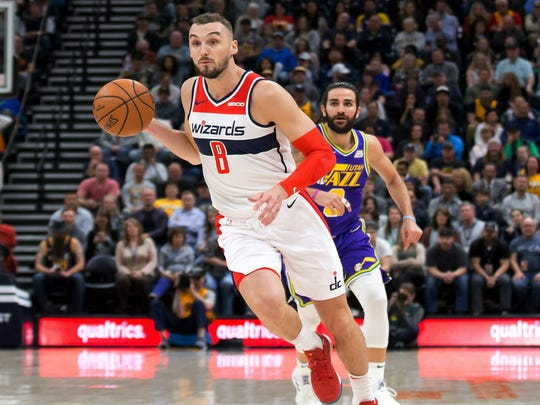 NBA: Washington Wizards at Utah Jazz