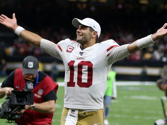 A majority of the Richland County football coaches and players are rolling with Jimmy G and the 49ers to win Super Bowl LIV.