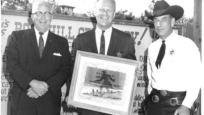 The 38th President of the United States Gerald Ford named Honorary Boot Hill Marshal. SUBMITTED PHOTO