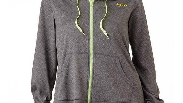 A FILA Hooded Fleece-Lined Jacket from Kohl's. Much