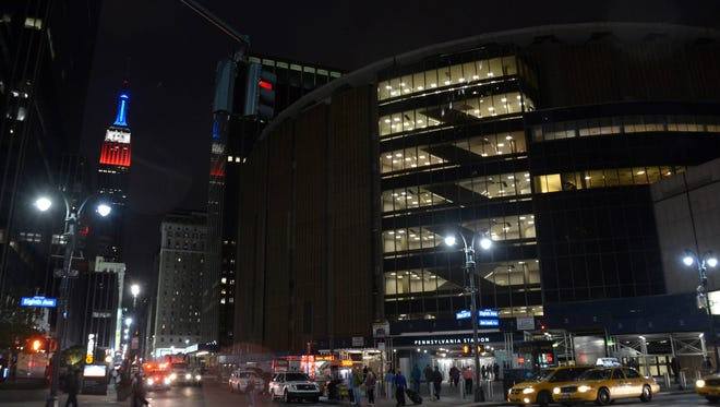 Madison Square Garden in Manhattan will host the 2015 NBA All-Star Game, but the Saturday events will be at Barclays Center in Brooklyn.