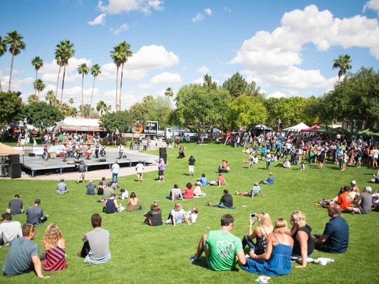 The AmeriCAN Canned Craft Beer Festival is set right in scenic Scottsdale Civic Center.