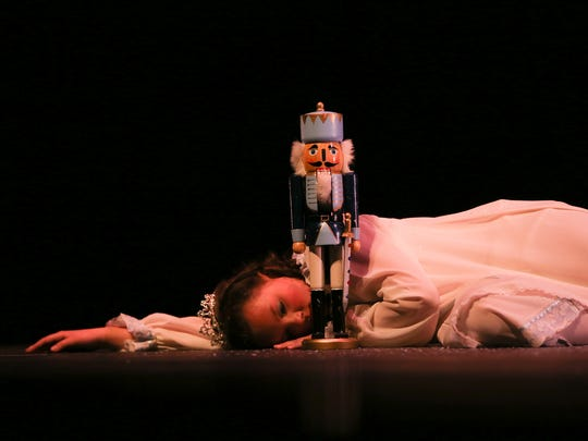 Aubrie Lybrook performs as Clara in last year's production of 'The Nutcracker' by the Mann Dance Academy Inc.
