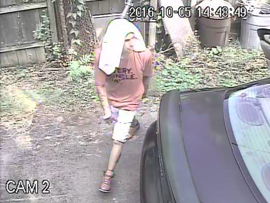 Suspects in a home burglary on Oct. 5 were caught on