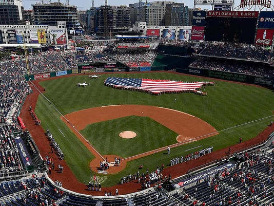 MLB: Boston Red Sox at Washington Nationals
