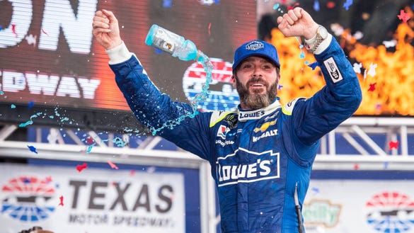 4 stats proving why Jimmie Johnson will be tough to beat at Texas