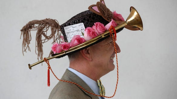 30 of the best and most outrageous hats at the 2018 Kentucky Derby