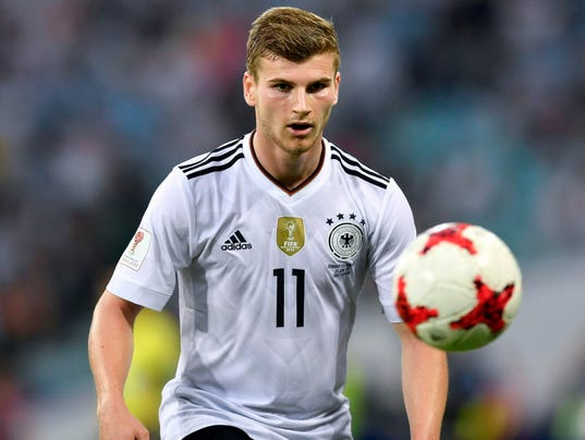 Confederations Cup: Polarizing Timo Werner channeling Kobe