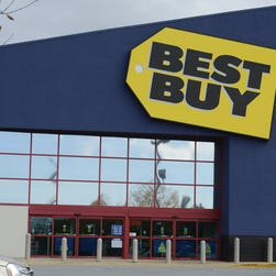 10/31/14 1:46:15 PM -- Wilmington, DE  --  Money File Images -   Best Buy store in Wilmington, DE. Photo by Eileen Blass, USA TODAY staff ORG XMIT:  EB 131729 money file image 9/17/2014 [Via MerlinFTP Drop]