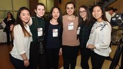 Iris Lee, Julia Fish, Ashley Lee, Tatiana Yared, Sarah
