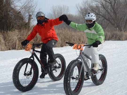 A fat tire bike race on the ice will be one of the