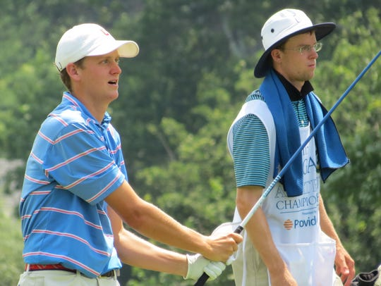 Mike Graboyes shares the midway lead at the 117th New Jersey Amateur golf championship at Echo Lake Country Club in Westfield on Wednesday, July 11.