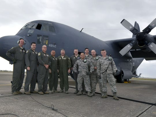 Crew members from the 39th Rescue Squadron and 920th