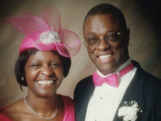 Phoenix Bishop Henry Barnwell with his wife, Sheila.