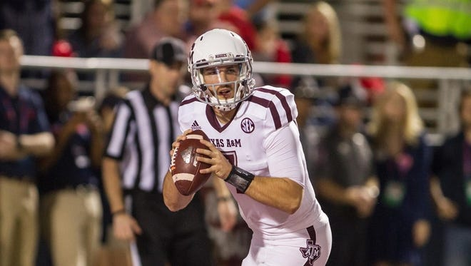 Texas A&M quarterback Jake Hubenak has gone from third string to starting in the Franklin American Mortgage Music City Bowl.
