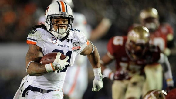 Tre Mason had given Auburn the lead late in the fourth quarter of the BCS title game before the Tigers lost in the final seconds to No. 1 Florida State, 34-31, in Pasadena.
