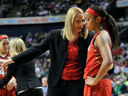 NCAA Womens Basketball: Final Four-Maryland vs Notre Dame