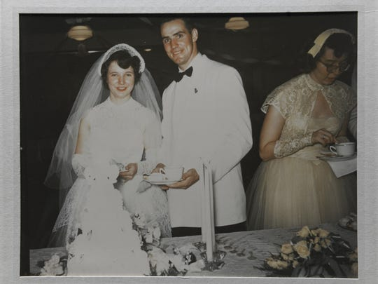 Ted and Lois wed on July 26, 1952. The respective Northwestern and Southeastern students became aligned at a New Year's Eve party.