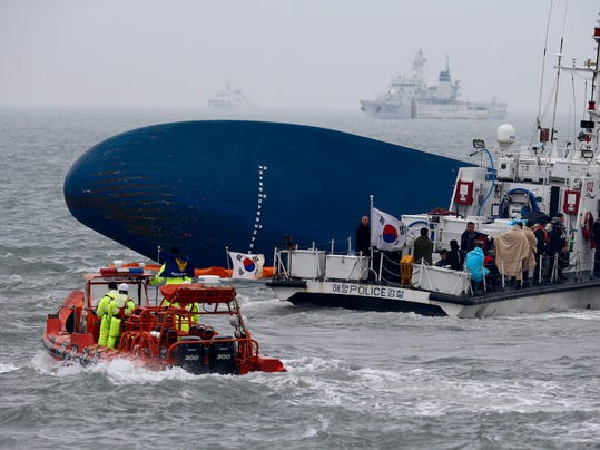 EPA epaselect SOUTH KOREA FERRY ACCIDENT