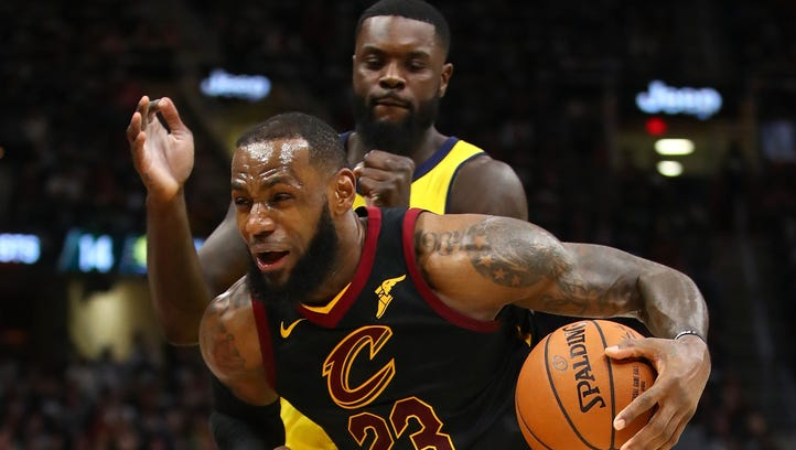 LeBron James and Lance Stephenson, a timeline: Ear blowing, choke signs and a groin shot