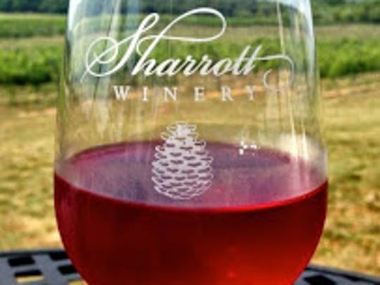 Sharrott Winery in  Hammonton is hosting a wine festival.
