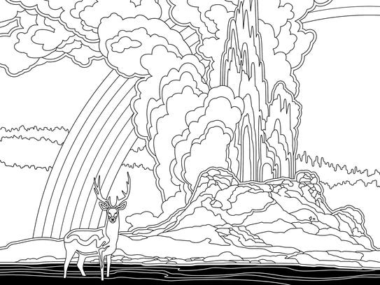 yellowstone coloring pages - photo#12