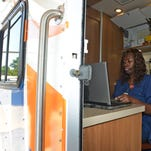 Mobile health unit for the homeless