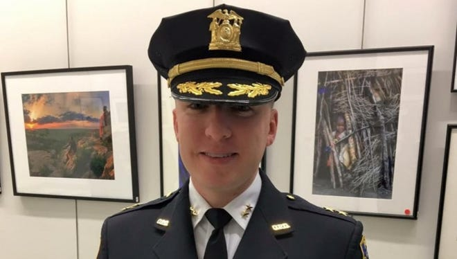 Newly named police chief of Ossining, Kevin Sylvester.