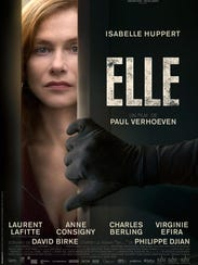 """The poster for """"Elle."""""""