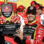 NASCAR: Kyle Larson survives finish, wins FireKepers Casino 400 at MIS