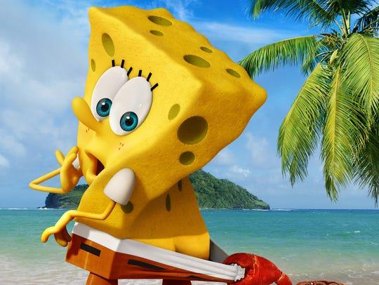 SpongeBob SquarePants in the upcoming movie 'SpongeBob: