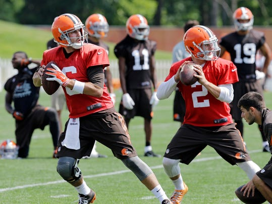 Browns QB Decision Football
