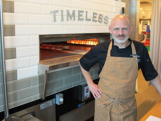 David Nelson is the executive chef of Timeless, a local