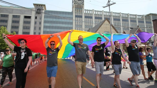 The Milwaukee Pride Parade is a centerpiece of PrideFest.