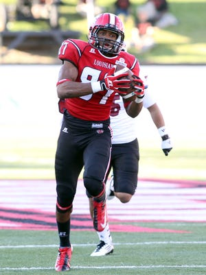Former UL wide receiver Darryl Surgent signs a deal with the Toronto Argonauts of the Canadian Football League.