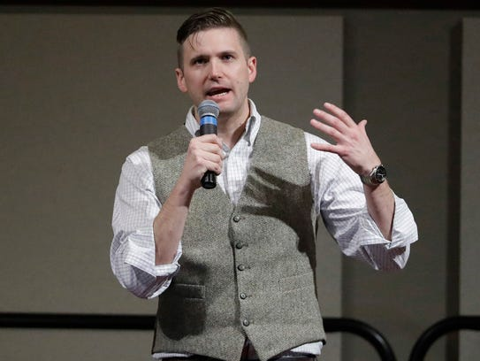 In this Dec. 6, 2016, file photo, Richard Spencer,