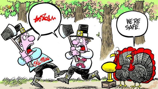 Marshall Ramsey's cartoon