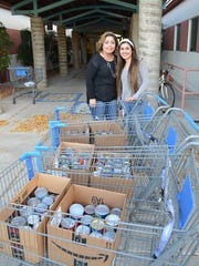 Mayfield High School Student Government collected money and canned goods to donate.