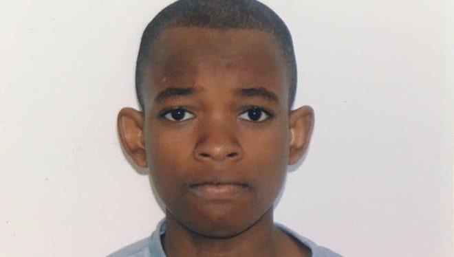 "Lederky ""Alex"" Oge, 14, had been missing since Aug. 21."