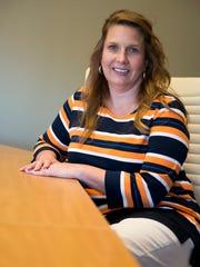 Marla Rye, President of Workforce Essentials, poses