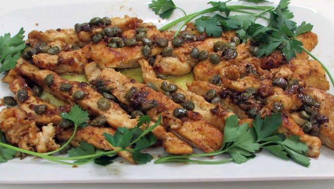 Sauteed Chicken Piccata
