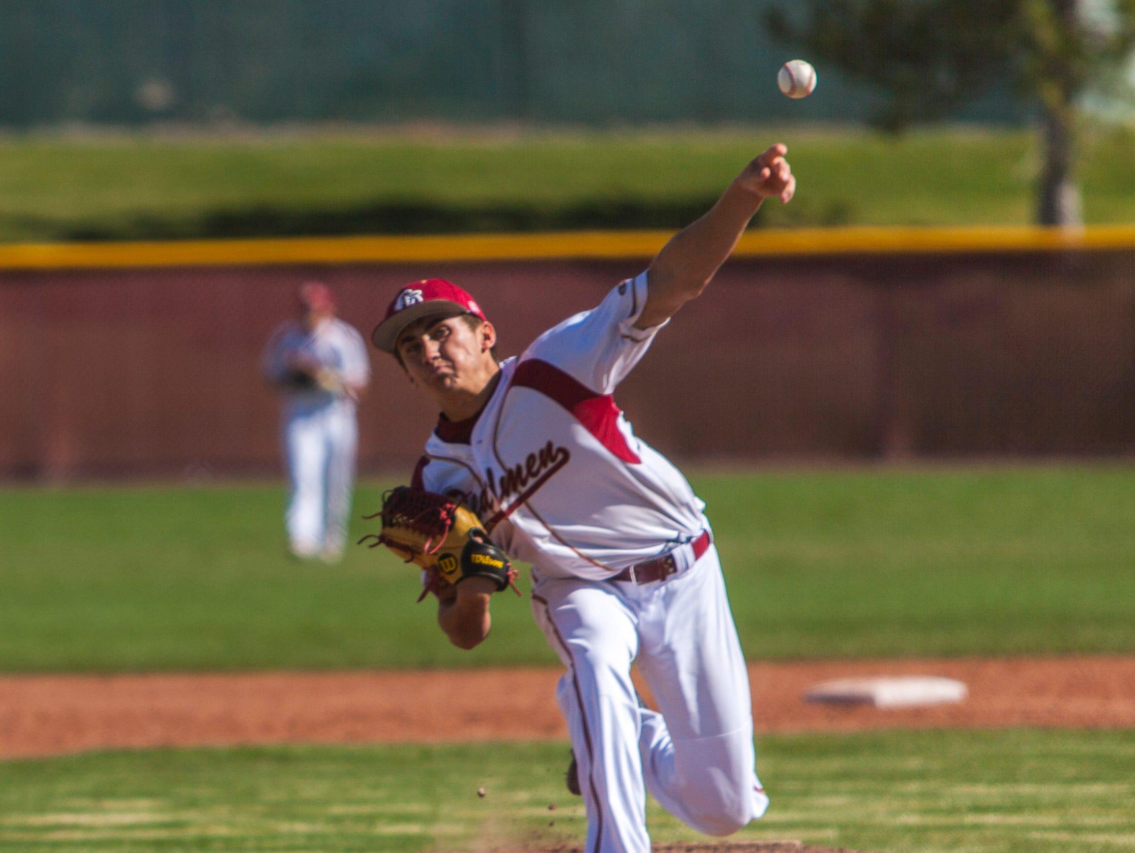 High School Baseball: Snow Canyon at Cedar, Tuesday, April 12, 2016. Final Score: SCHS 13, CHS 2 (5 innings).